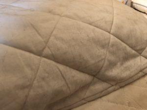 枕に付いた抜け毛